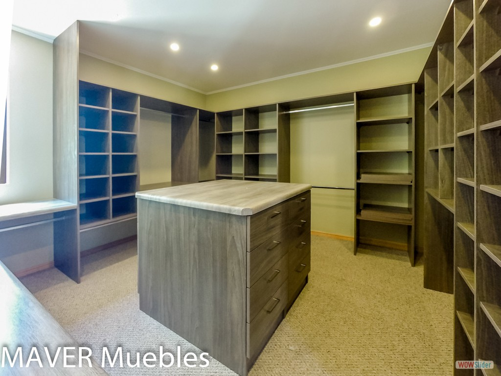 Walk in closets for Muebles walking closet