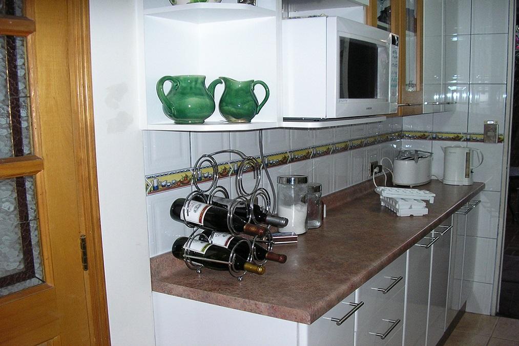 Muebles de cocina cubiertas postformado
