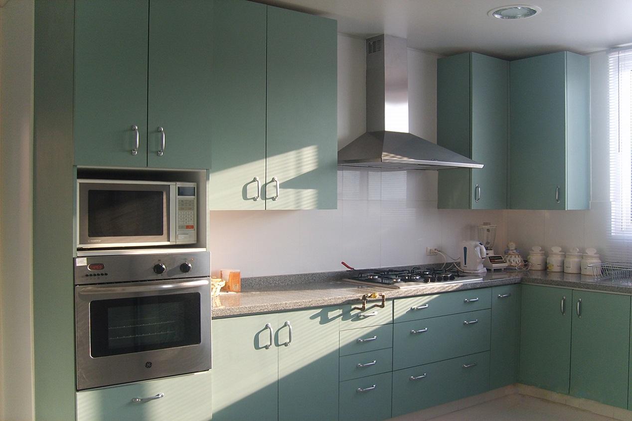 Maver muebles de cocina modernos y a medida 56222557377 for Cocinas enchapadas