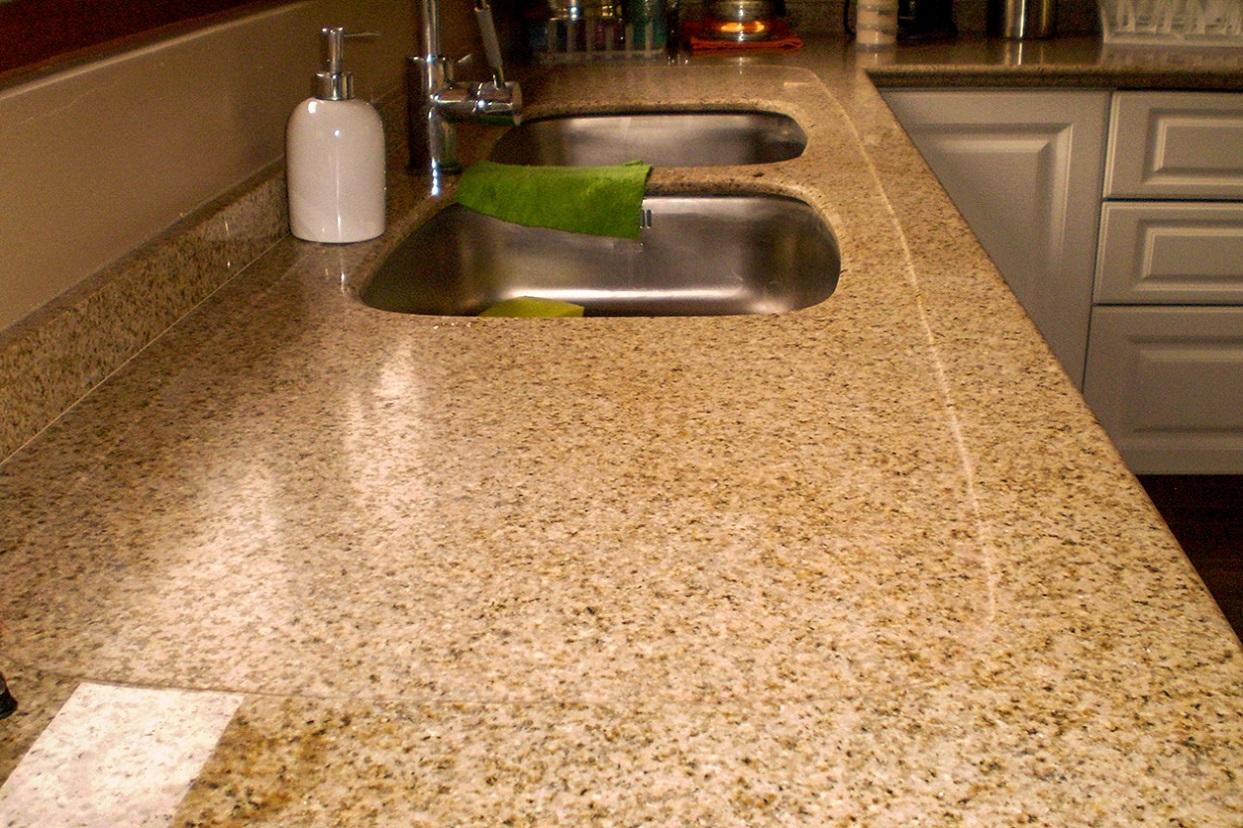 Muebles de cocina cubierta granito puertas pvc termolaminado for Cubiertas de granito