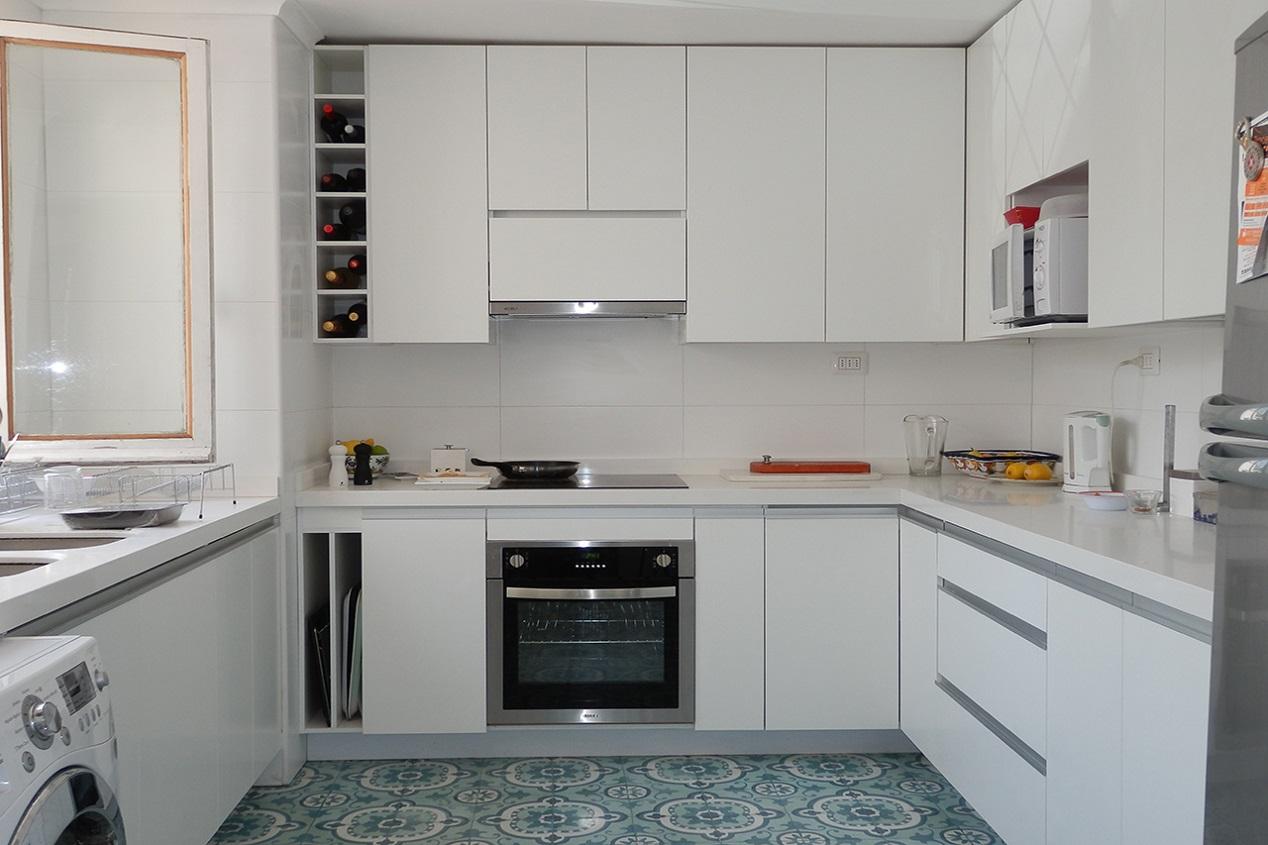 Muebles De Cocina Cubierta Silestone Puertas Melamina