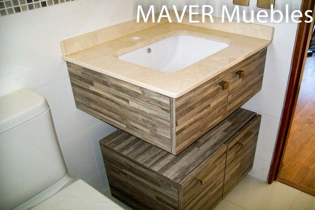 maver muebles vanitorios On cubiertas de marmol chile