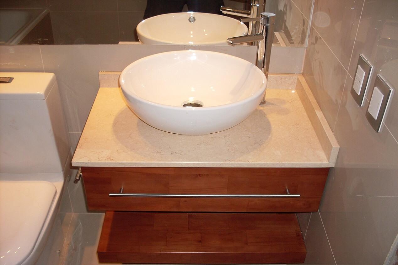 Maver muebles vanitorios for Lavamanos rusticos de madera
