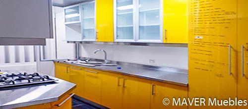 Maver muebles de cocina modernos y a medida 56 222 55 73 for Catalogos de muebles de cocina y precios